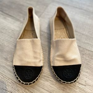 SOLD! Hardly worn Tory Burch espadrilles
